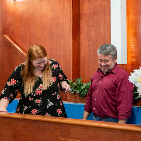 Lia's Baptism
