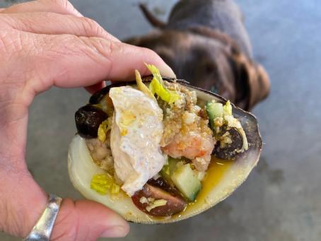 Marinated Shrimp & Clams on the Half Shell
