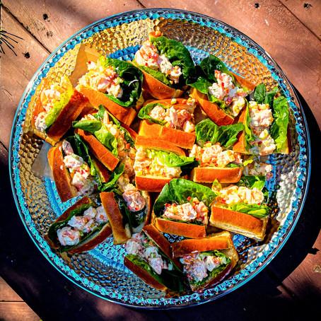 Shrimp Salad Rolls