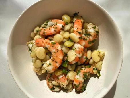 PB Cooks Shrimp & Butter Beans