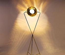 IRIS FLOOR LAMP : On Sale 20% Off | Unique Brass or Stainless Floor Lamp