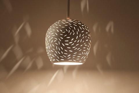 Claylight Mini Ceiling Light Unique Lighting Ceramic Fixture