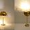 Thumbnail: IRIS TABLE LAMP (Brass) : Modern Lamp | Led Lamp
