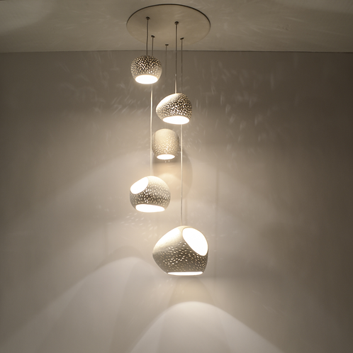 CLAYLIGHT 5 CLUSTER : On Sale 15% Off | Chandelier Lighting | Ceiling Light