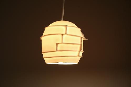 SPIKES PENDANT : Translucent Porcelain | LED Lighting | Unique Ceiling Light