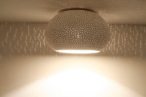 CLAYLIGHT FLUSH MOUNT: Minimal Lighting | Ceramic Hanging Lamp