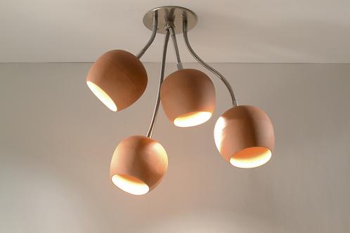 TERRACOTTA BOUQUET : LED Lighting | Ceramic Lighting | Ceiling Light