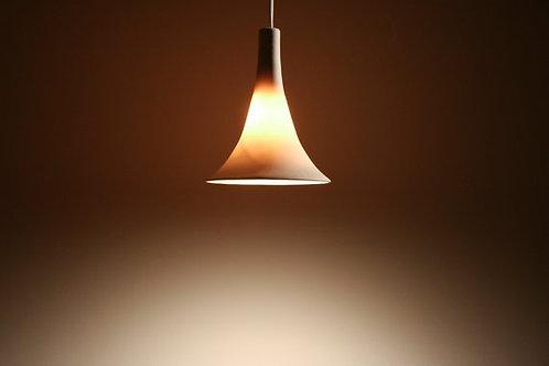 GRAMOPHONE PENDANT : Translucent Porcelain | Porcelain Light Fixture | LED Light