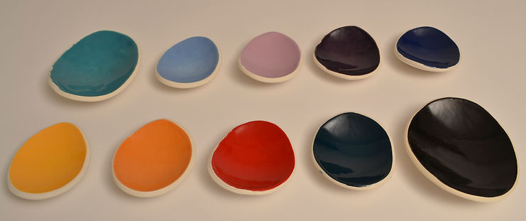 Ceramic color options for custom ceramic lamps