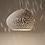 "Thumbnail: CLAYLIGHT 6"" : Modern Ceramic Pendant Light | Minimalist Lighting | Unique Light"