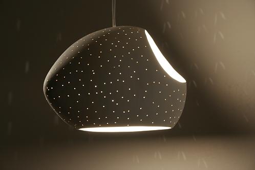 "DOUBLE CUT 7.5"" CLAYLIGHT : Pendant Lamp | Ceramic Light | Designer Lighting"