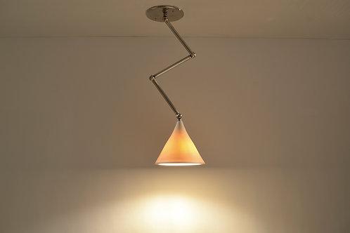 GRAMOPHONE Z-LIGHT : Porcelain Light Fixture | Adjustable Pendant Lamp | Minimal