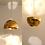 Thumbnail: IRIS PENDANT BRASS : On Sale   LED Lighting   Modern Pendant Light