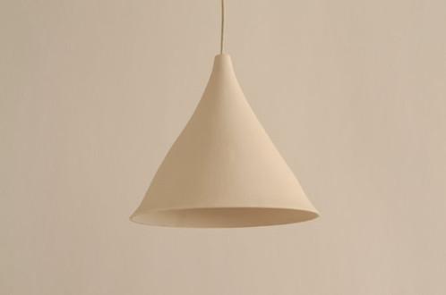 pendant light: porcelain gramophone | lightexture - unique
