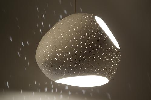 "DOUBLE CUT 13"" CLAYLIGHT : Pendant Lamp | Ceramic Light | Designer Lighting"