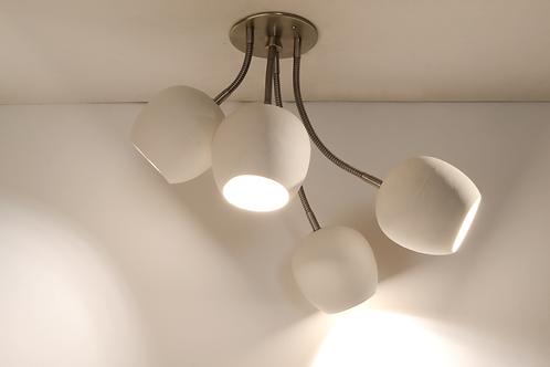 LED BOUQUET : Modern Ceiling Light | Minimalist Light Fixture | Ceramic Lighting