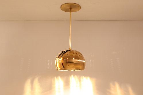 IRIS ROD PENDANT : Brass Pendant Light | Contemporary Lighting