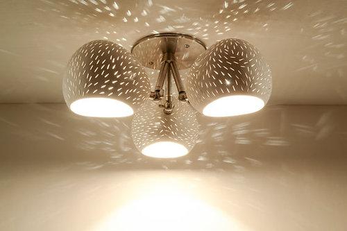 Lightexture unique designer lighting claylight clover claylight clover designer flush mount ceramic ceiling lighting aloadofball Image collections