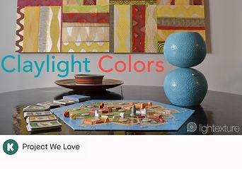 Claylight Colors Kickstarter Campaign