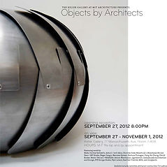 Objects by Architects