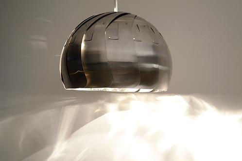 "LARGE IRIS PENDANT : 13"" Stainless Pendant Light | Contemporary Lighting"