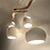 Thumbnail: CLAYLIGHT BOOMERANG XL : Ceramic Lighting | Modern Light Fixture