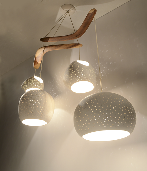 Claylight Boomerang Xl Ceramic Lighting Modern Light Fixture