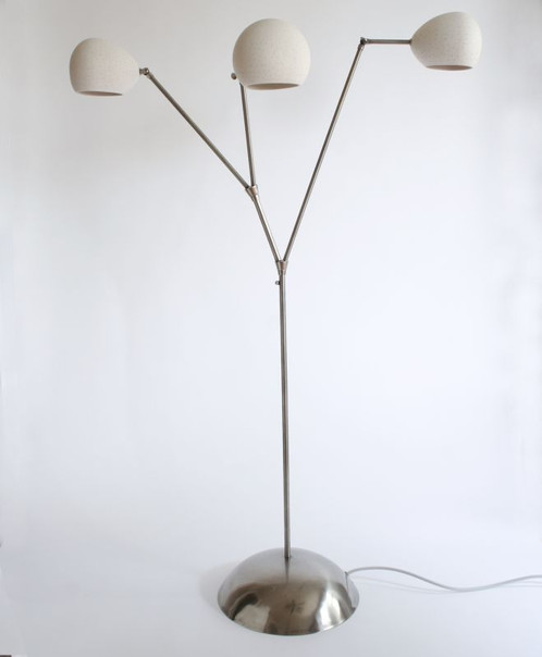Claylight tree floor lamp lightexture unique designer lighting clay light tree is an architecturally designed floor lamp partially constructed using adjustable brushed nickel branches aloadofball Choice Image