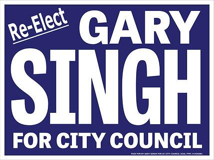 Singh - City Council - 2020 yard signs.j