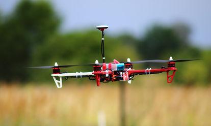 ujęcia dronem