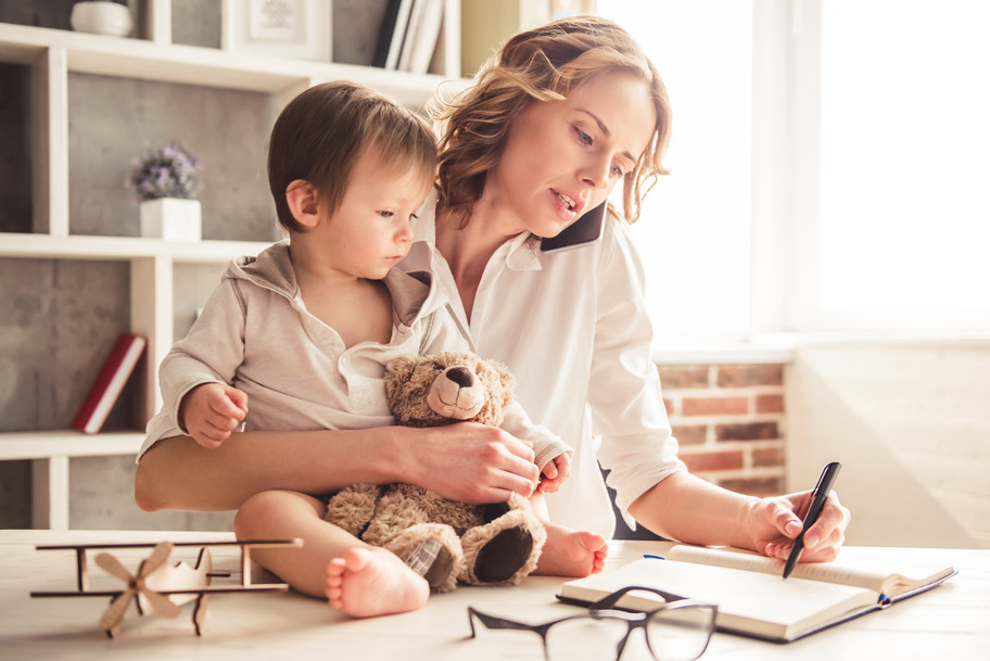 How to Find Balance as a Work-at-Home Mom