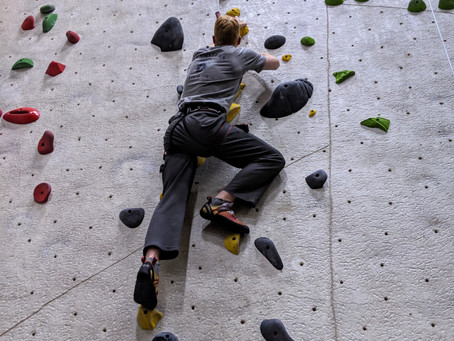 Our Day to Day Life - Indoor Climbing