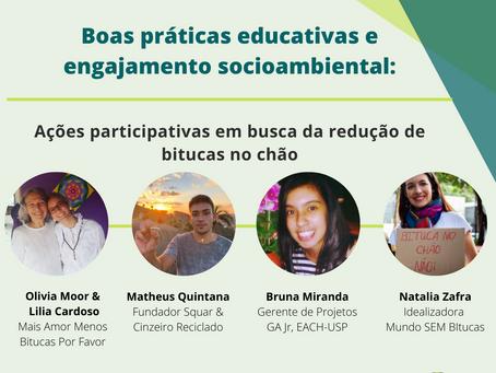 Live MSB - Boas práticas educativas e engajamento socioambiental