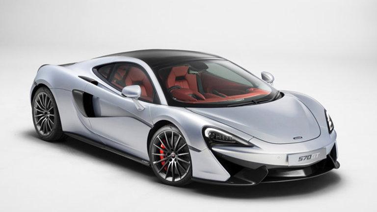 McLaren 570GT 3.8 V8 570Hp
