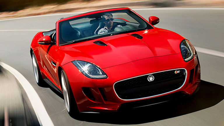 Jaguar F type 5.0 V8 Supercharged 550Hp