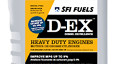 D-EX FUEL CLEANER FOR ENHANCED DIESEL ENGINE PERFORMANCE (1L)