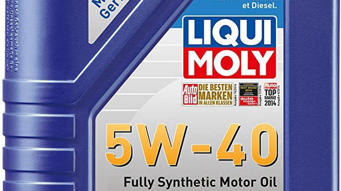 Liqui Moly 2331 Leichtlauf High Tech 5W-40 Engine Oil - 1 Liter
