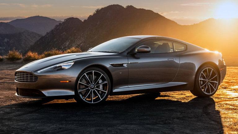 Aston Martin Virage 6.0 liter V12 490Hp
