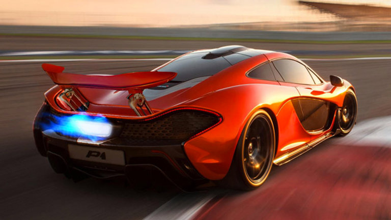 McLaren P1 3.8 V8 916Hp