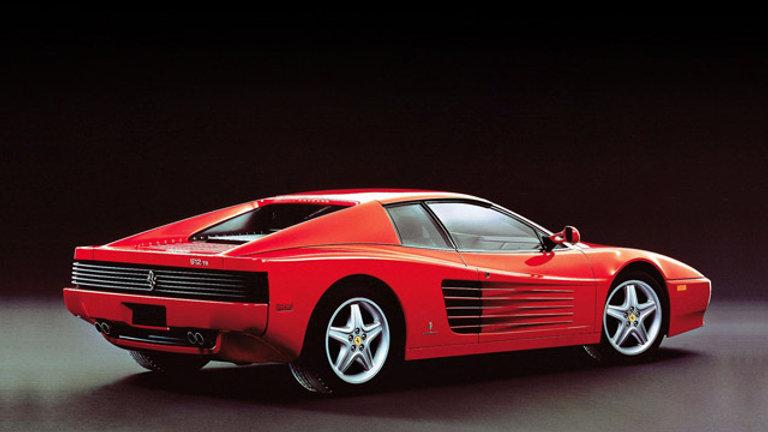 Ferrari 512TR 5.0 V12 428hp