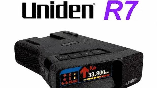Radar Detector Uniden R7