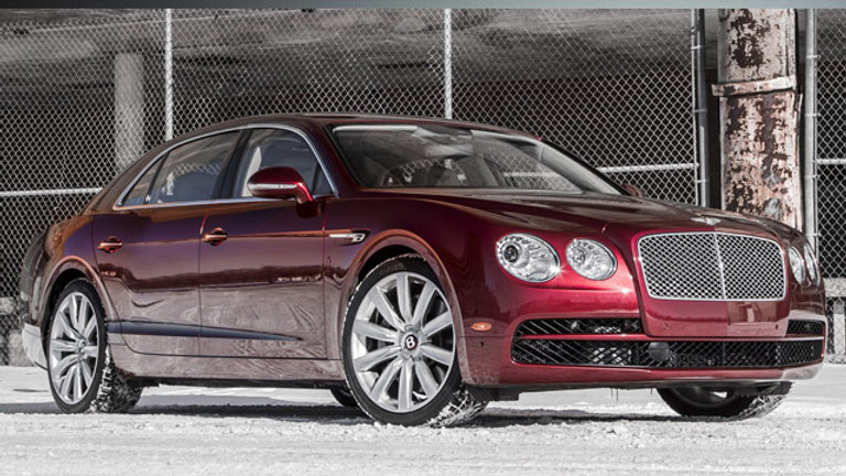 Bentley Continental Flying Spur 6.0 W12 Bi-Turbo 610Hp