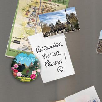 Magnet - La Roseraie de Provins