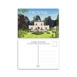 Carte Postale - Villa Garnier