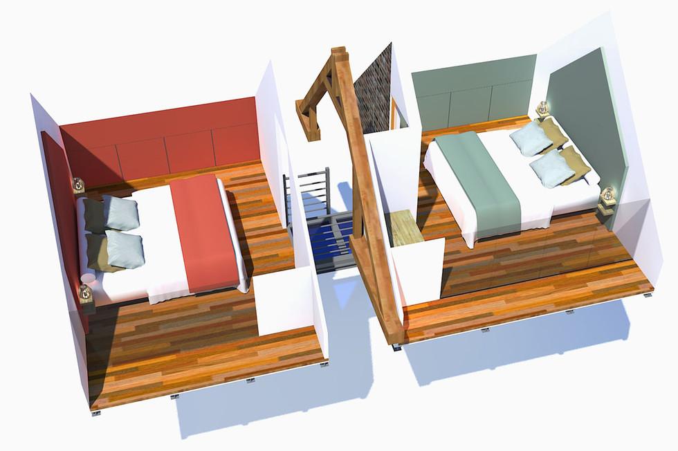 3D du 1er étage