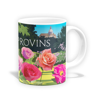 Mug - La Roseraie de Provins
