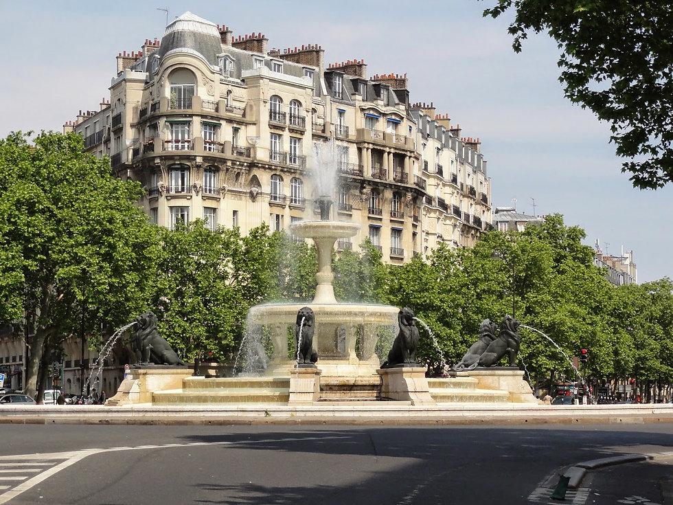 Fontaine du Château d'Eau, Place Félix-É