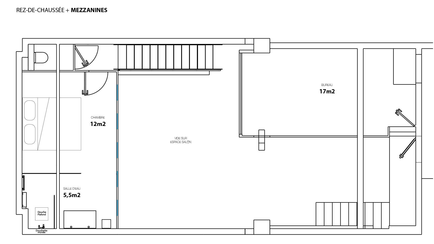 Plan du projet - mezzanines