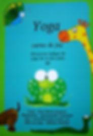 Carte de jeu Yoga pour apprendre le yoga en s'amusant