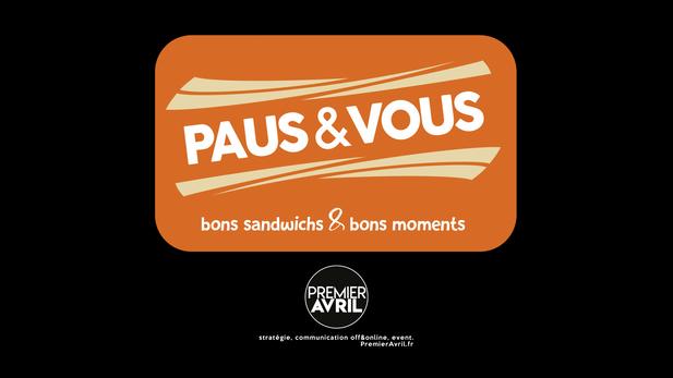 Création du logo de la sandwicherie PAUSE&VOUS.
